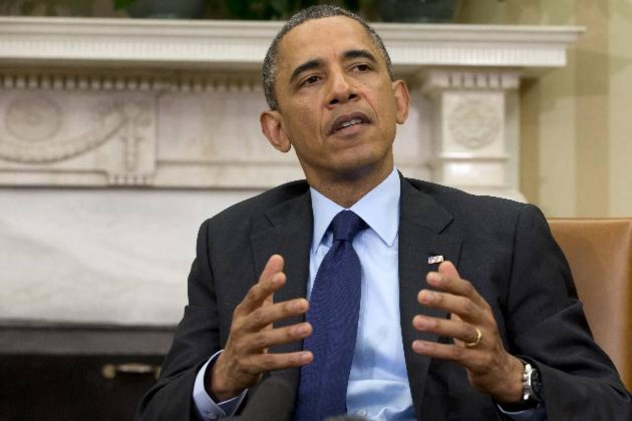 El presidente Obama en entrevista ayer con ABC. Este lunes dará un informe económico. foto edh / archivo