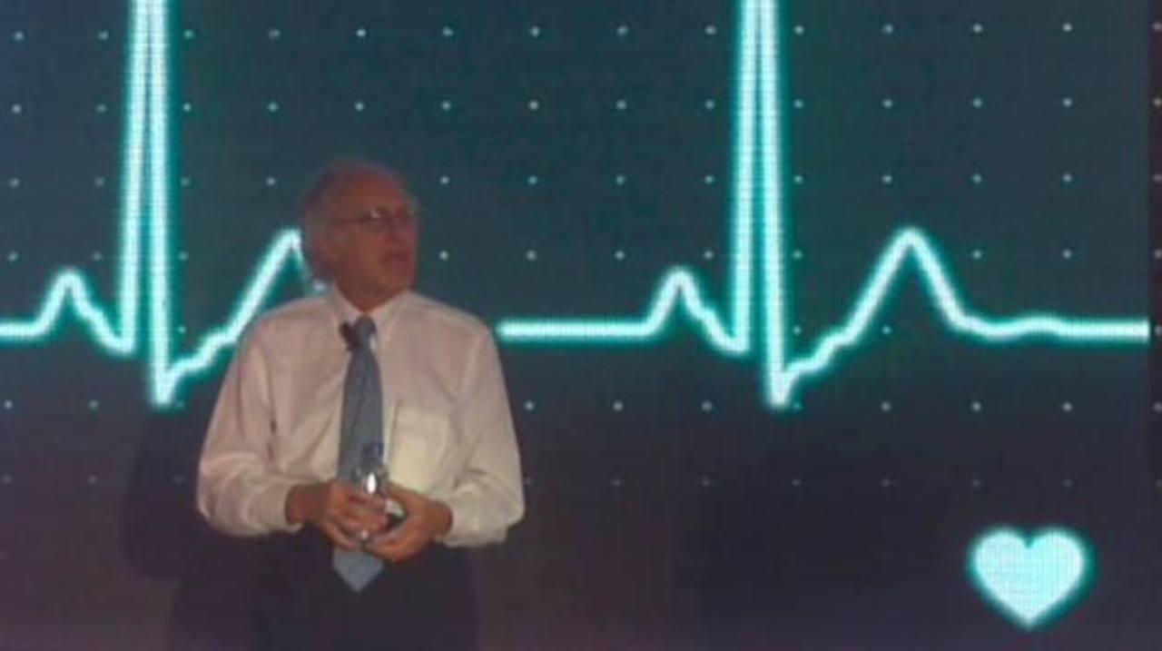 Howard Charney, vicepresidente de Cisco, durante su ponencia en el foro Cisco Connect 2013 en San José, CR.
