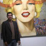 Cruz y su muestra en Galería Rozas Botrán (Guatemala).