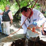 Medio Ambiente descarta contaminación en San Luis Talpa