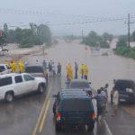 En todo México, 330 municipios de 22 estados tuvieron algún tipo de afectación por las lluvias y están evacuadas unas 50 mil personas, dice el secretario de Gobernación, Miguel Ángel Osorio.