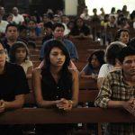 Feligresía se reunió en la Parroquia San José de la Montaña. foto edh / Jorge REYES