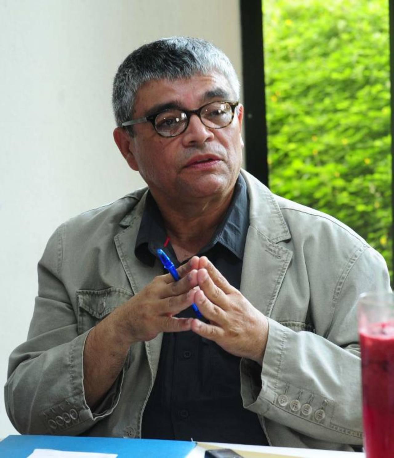 Ramón Rivas es miembro de la Universidad Tecnológica. Fue director de Patrimonio de la Secretaría de Cultura. Foto EDH