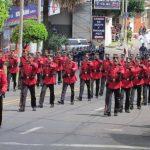 El orden y disciplina militar son aplaudidos durante los desfiles. Foto EDH / Mauricio Guevara