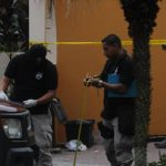 Vista del sitio donde asesinaron a un panadero en Soyapango. Los panaderos se han vuelto blanco para las pandillas Foto EDH/L. m