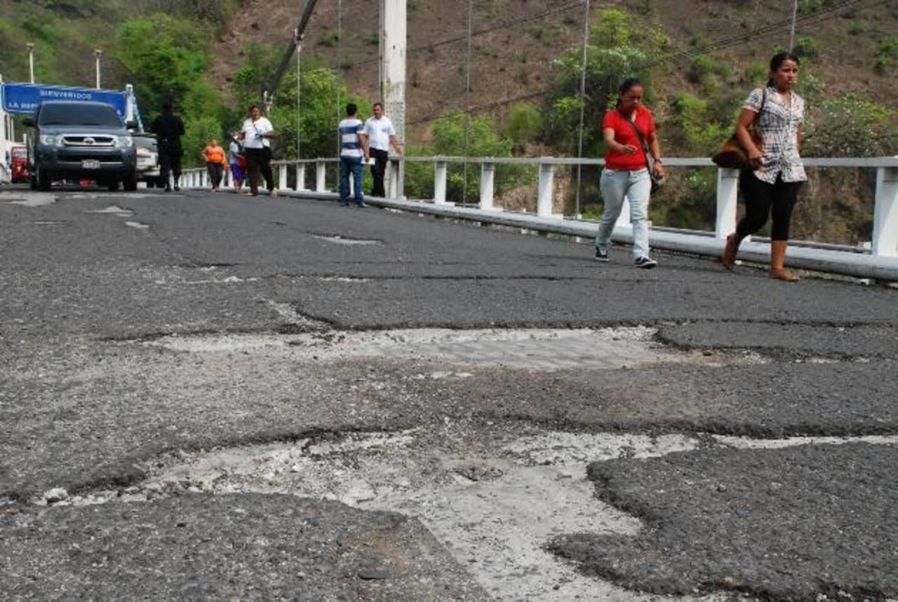 El puente el Jobo, en la frontera Las Chinamas-Valle Nuevo.
