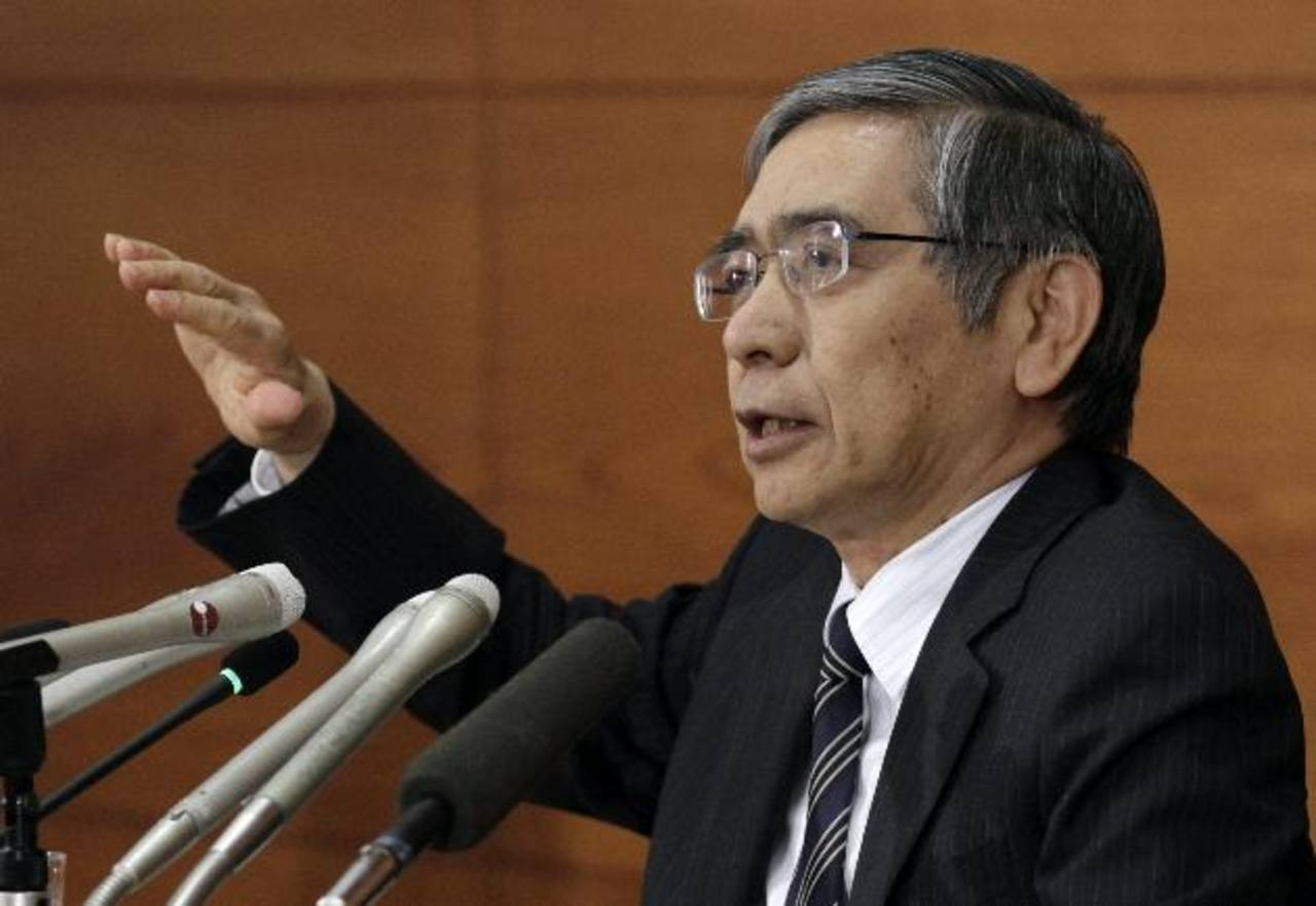 El gobernador del Banco de Japón, Haruhiko Kuroda, advierte que la situación de Estados Unidos puede ocasionar daños severos a la economía global.