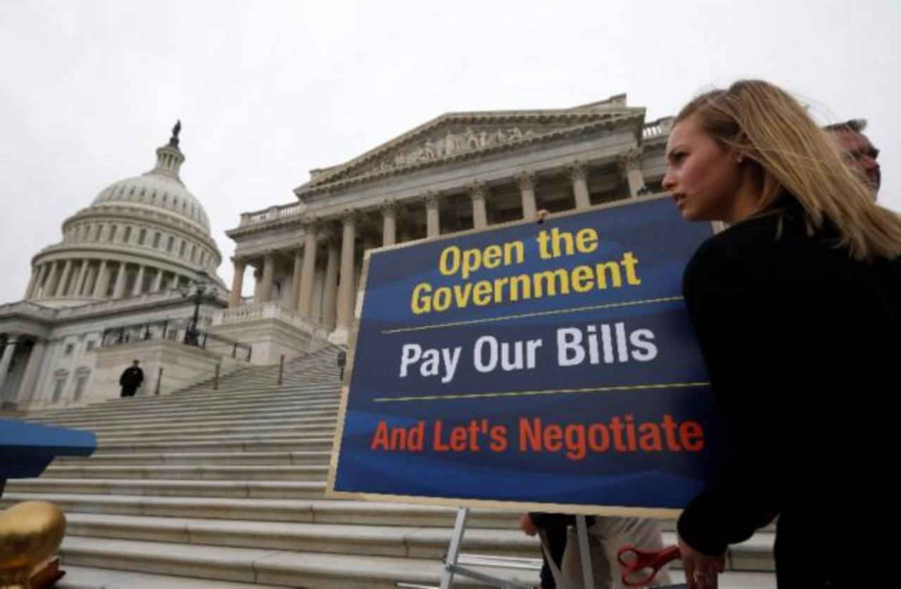 Crece optimismo en legisladores EEUU sobre pronto final de crisis presupuestaria
