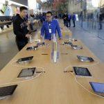 La iPad Air salió a la venta hoy en más de 40 países.