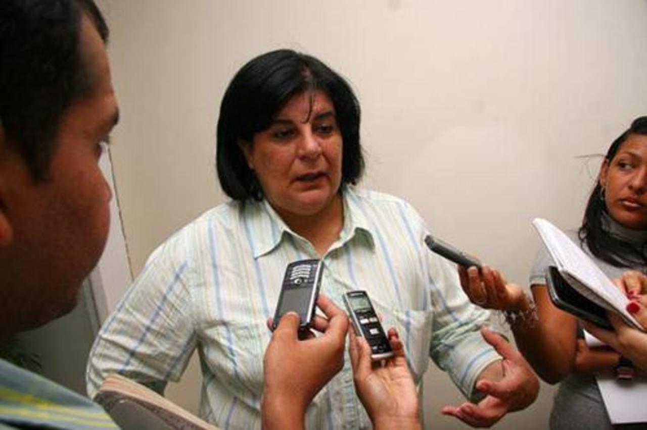 La diputada por el estado Monagas, María Mercedes Aranguren. foto edh / internet