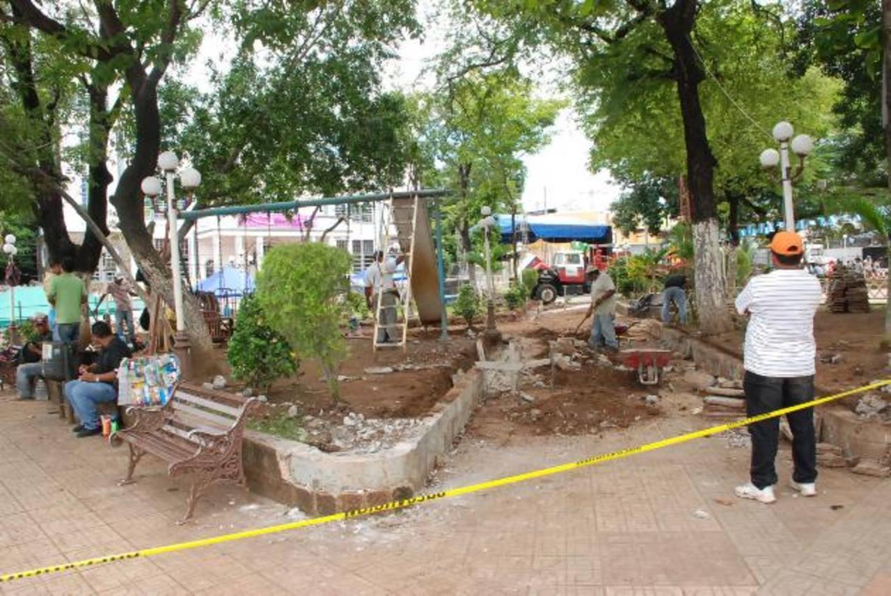 Las obras avanzan y se espera que esté terminado en diciembre del presente año. foto edh / insy mendoza