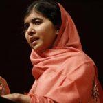 La adolescente paquistaní Malala Yousafzai habla en la Universidad de Harvard, en esta imagen del 27 de septiembre de 2013. Foto/ AP