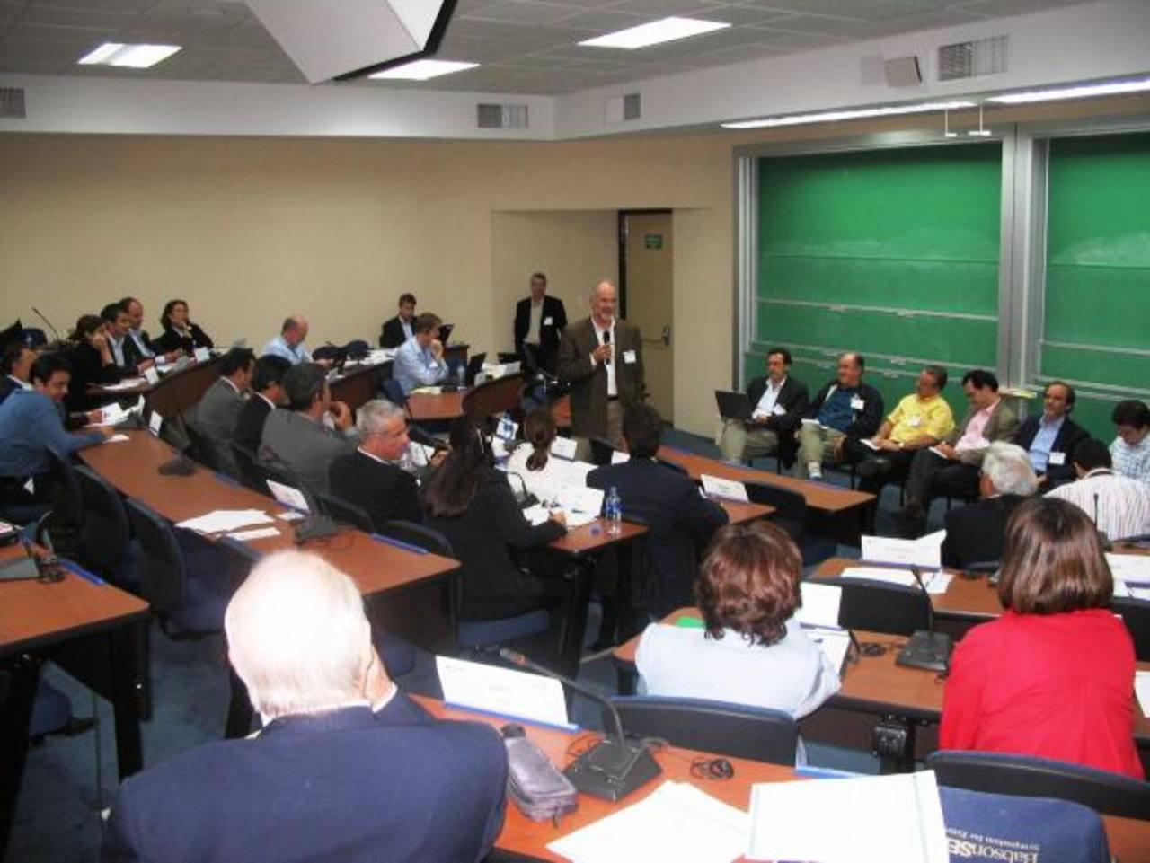 El INCAE forma a ejecutivos y empresarios. Foto edh/archivo