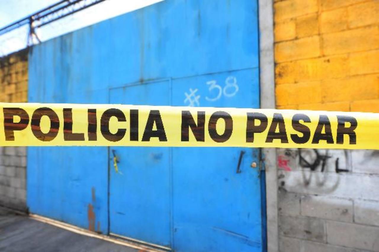 A los tres los encontraron culpables de haber asesinado a Adrián Guardado Granados, el 31 de diciembre pasado. Foto EDH / Archivo