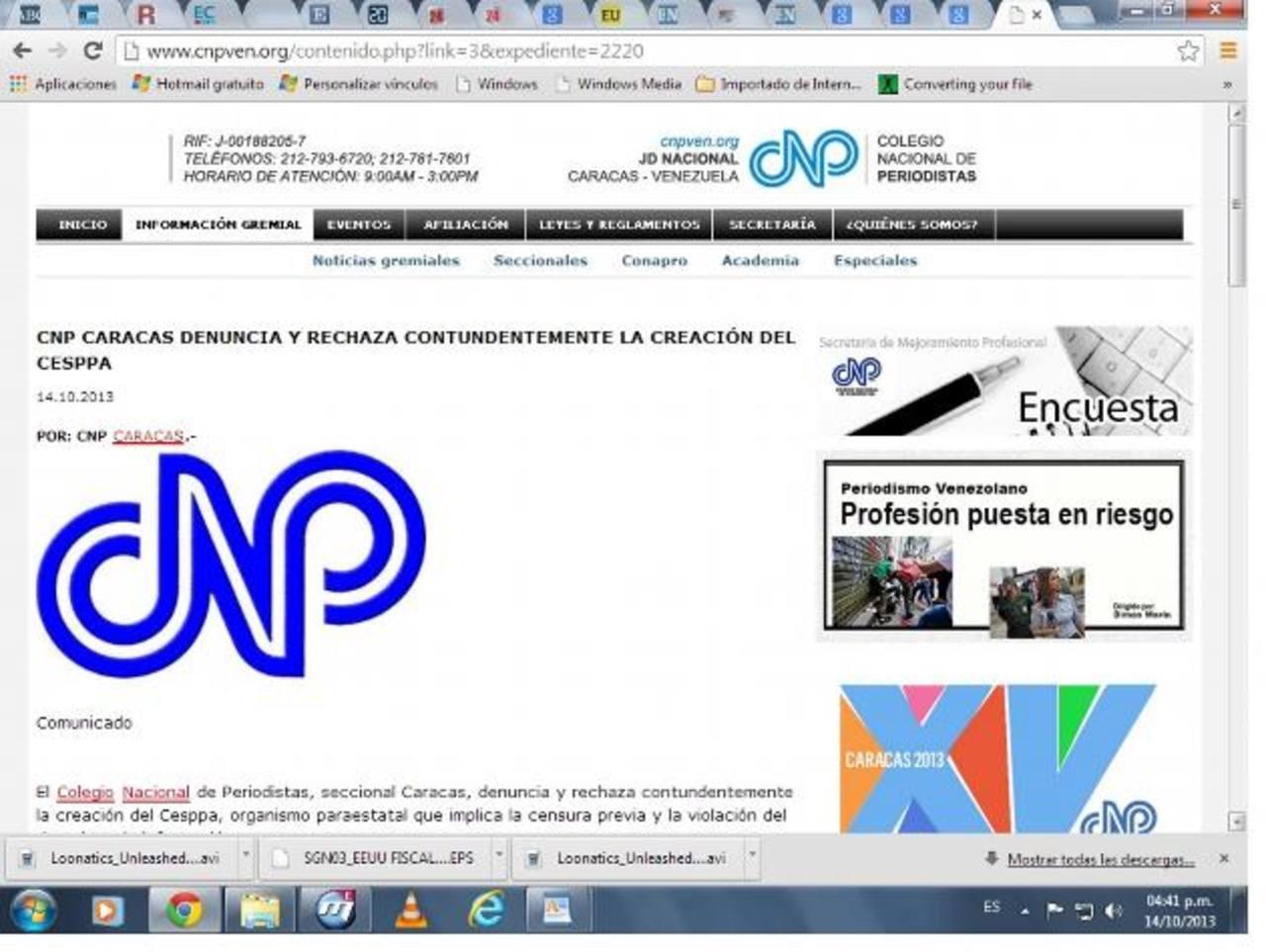 El Colegio Nacional de Periodistas repudió ayer la creación de un organismo estatal porque promovería la censura. foto edh / internet