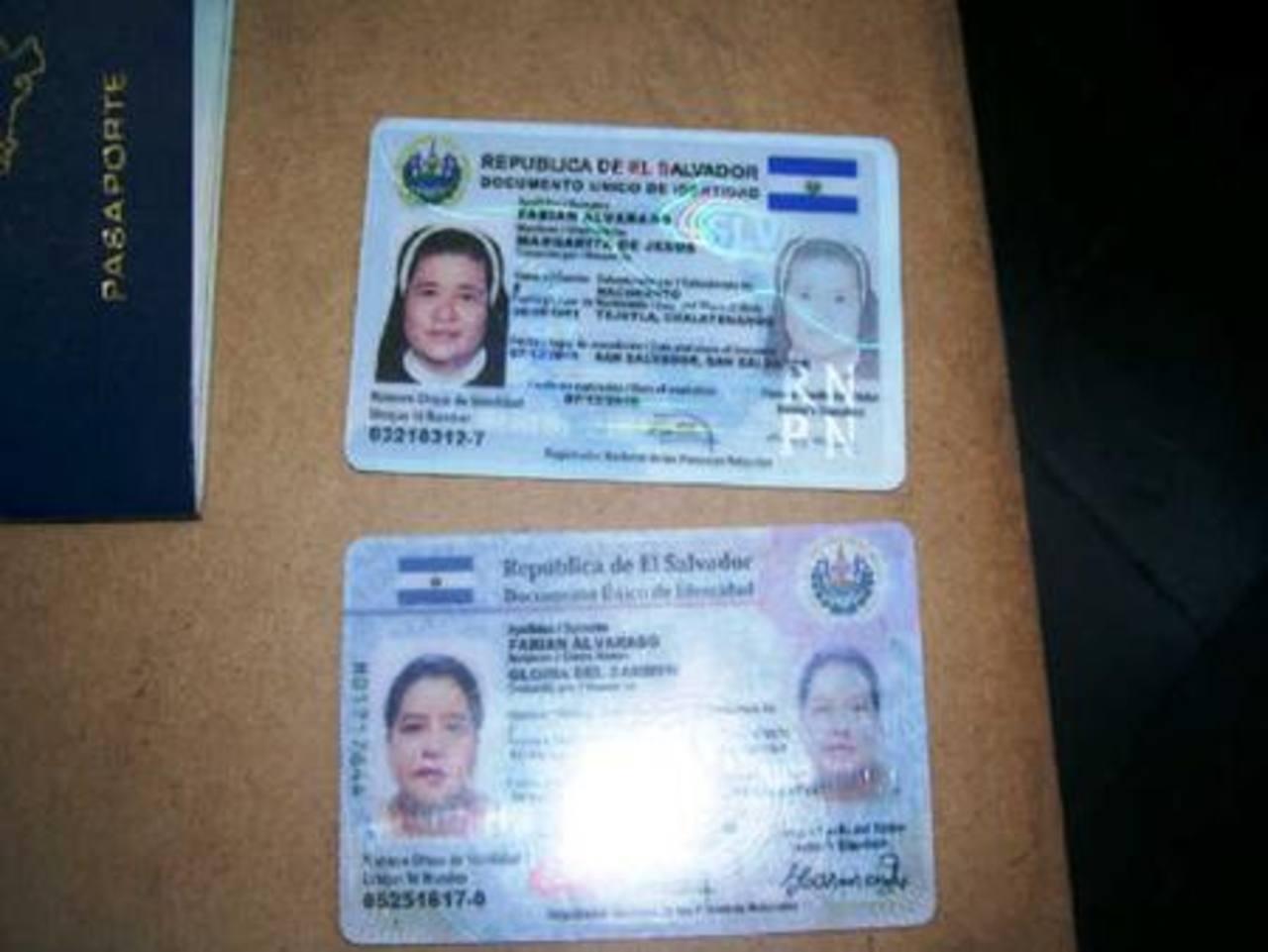 Las detenidas son: Gloria del Carmen y Margarita de Jesús Fabián Alvarado, esta última es monja