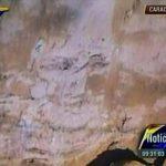 La supuesta aparición del rostro de Chávez mostrada por Maduro