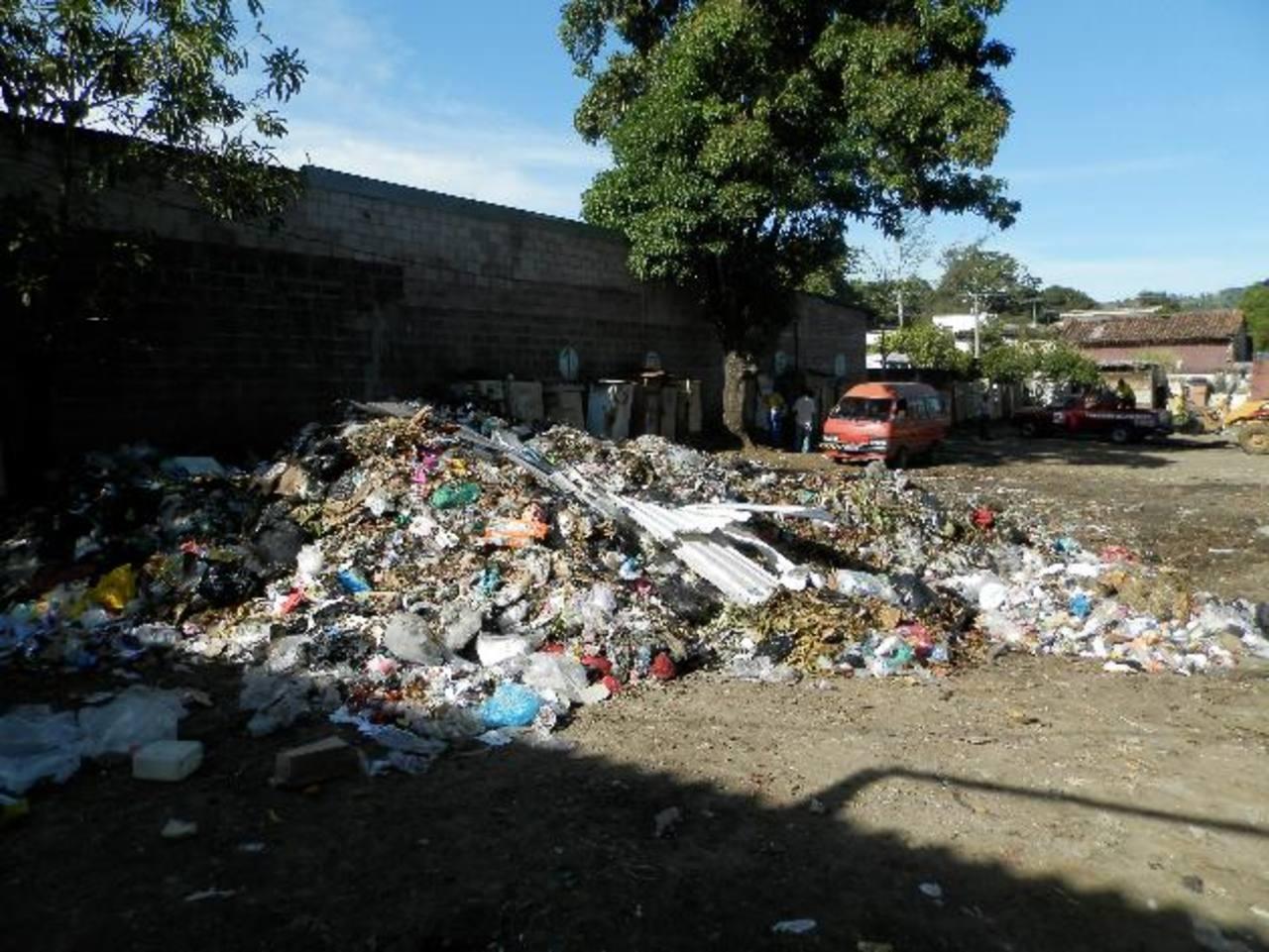 En el lugar hay de toda clase de desperdicios incluso partes de animales. Foto EDH / milton jaco