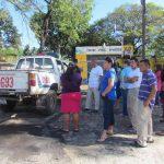 Familiares de reos no pudieron entrar a la visita, porque fueron suspendidas hasta nuevo aviso. Foto EDH / Mauricio Guevara