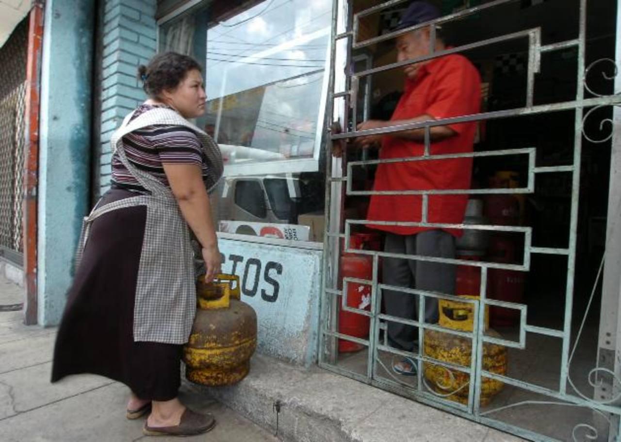 En noviembre aumenta el precio por cilindro de gas