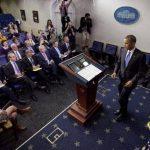 Obama firma ley que evita mora, reabre gobierno