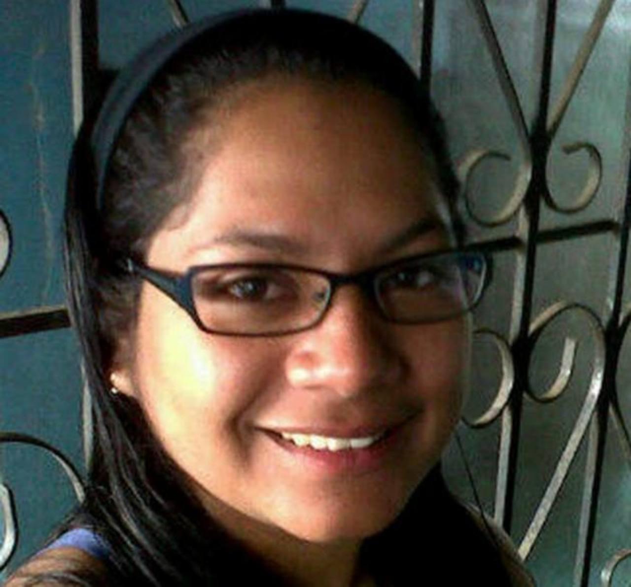 Lorena Magdalena Vaires Hernández, de 28 años, desapareció el pasado 21 de octubre en Santa Tecla.