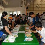 Los estudiantes cocinaron platillos tradicionales del Japón y se premió a los mejores. Foto edh / Insy Mendoza