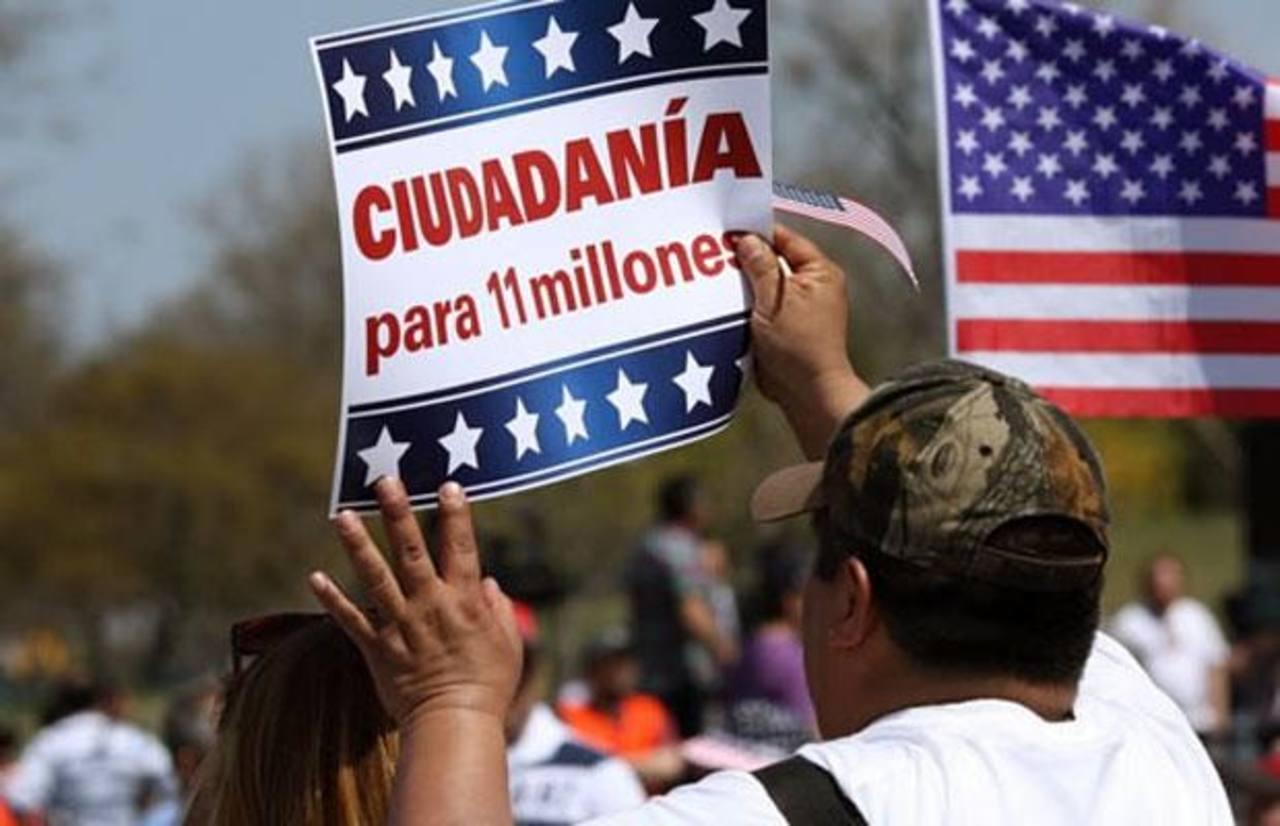 En abril, los inmigrantes pidieron al Congreso de Estados Unidos una reforma migratoria. foto edh / internet