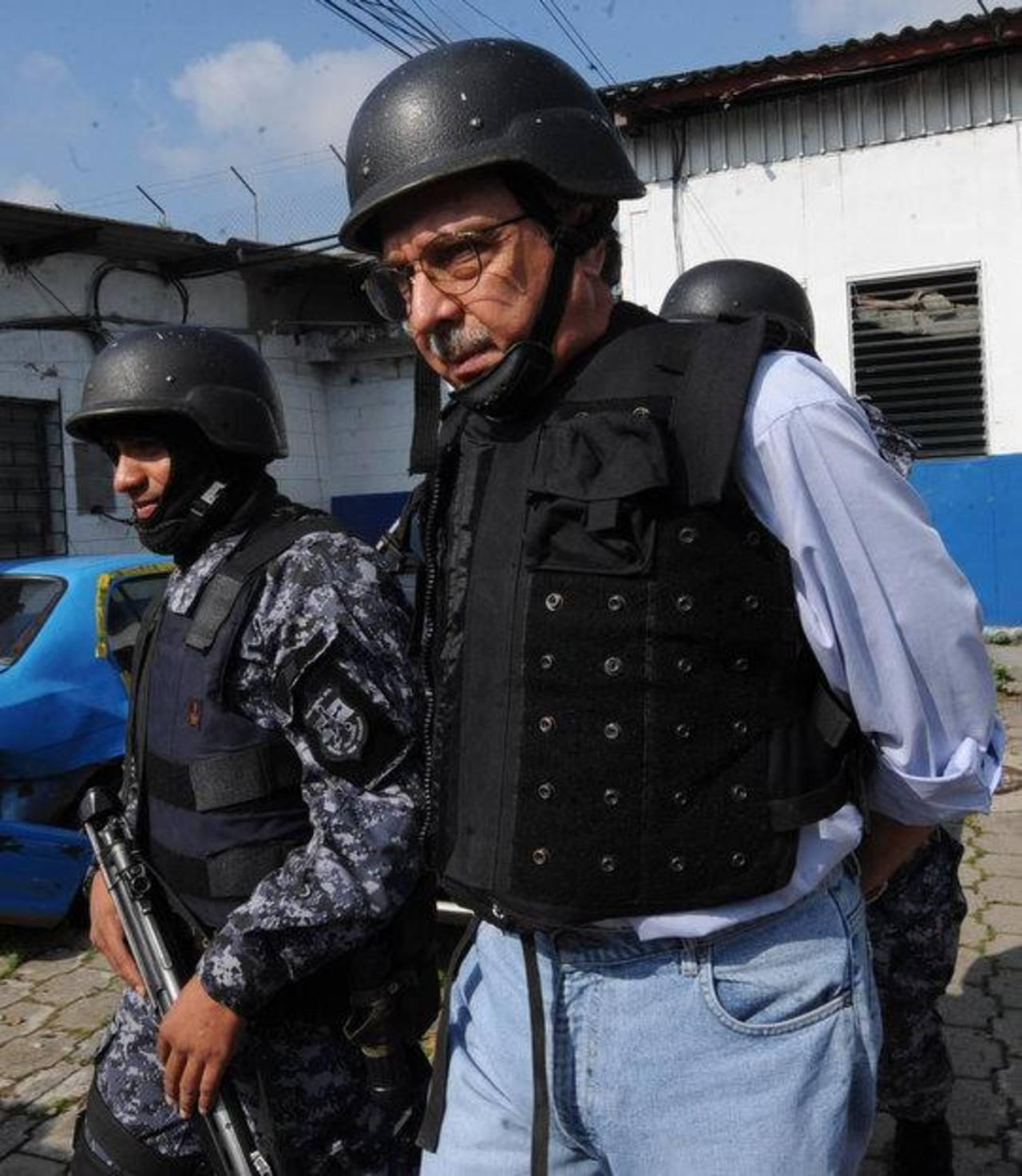 Carlos Perla cumple una pena de 15 años de prisión. Foto EDH