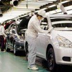 Una planta de producción de Corolla en Japón. Foto EDH /archivo