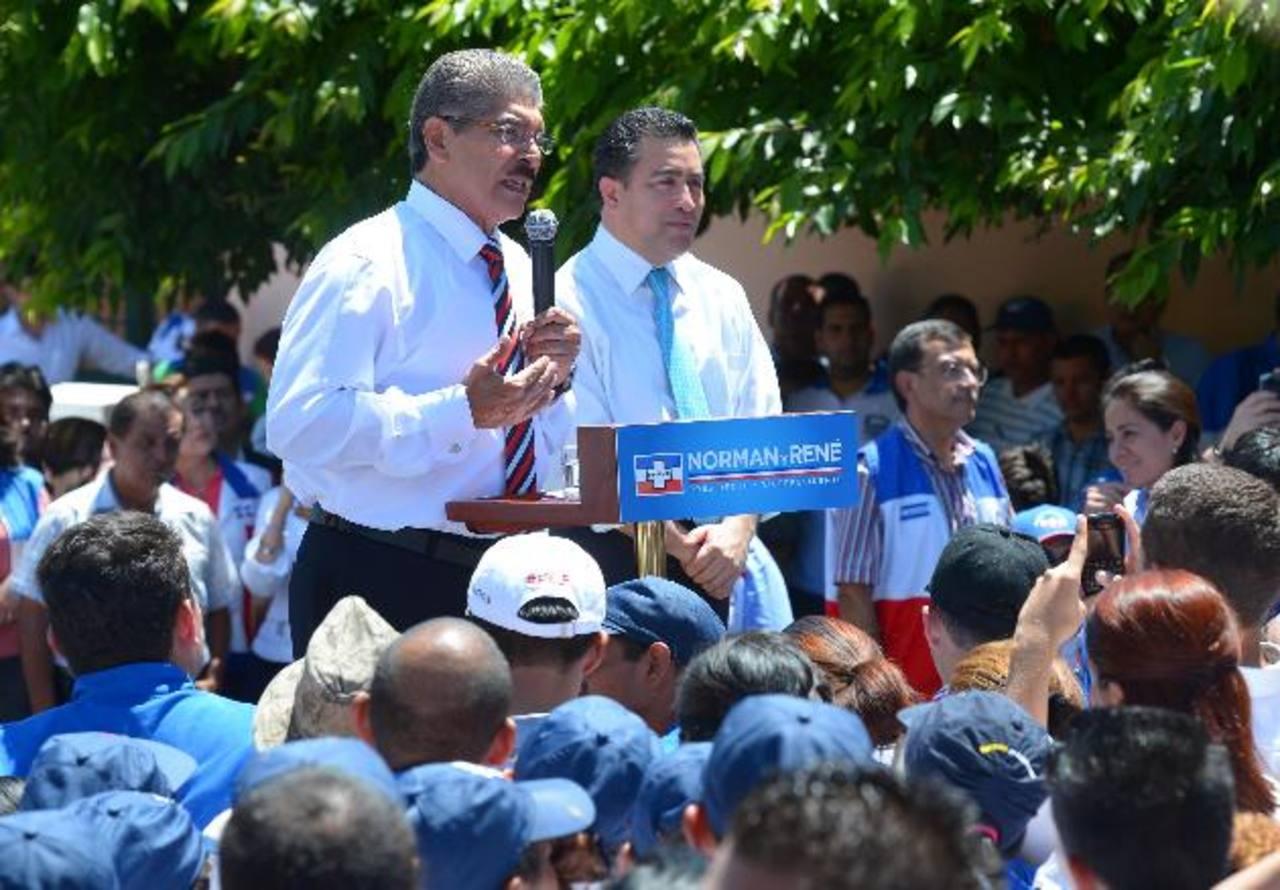 Un día después de haber hecho la solicitud, Quijano y Portillo Cuadra son candidatos oficiales de ARENA. Foto edh / archivo