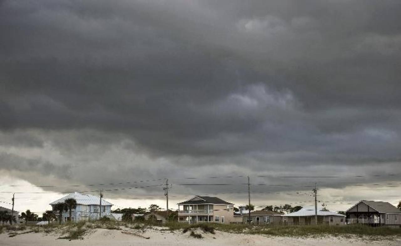 Nubes de la tormenta ayer en Alabama. foto edh /Reuters