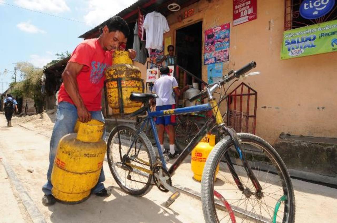 Los precios del gas subirán este mes de octubre debido al aumento de los precios internacionales. foto edh / archivo