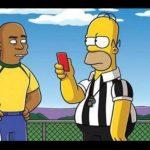 Homero Simpson impartirá justicia en el Mundial Brasil 2014