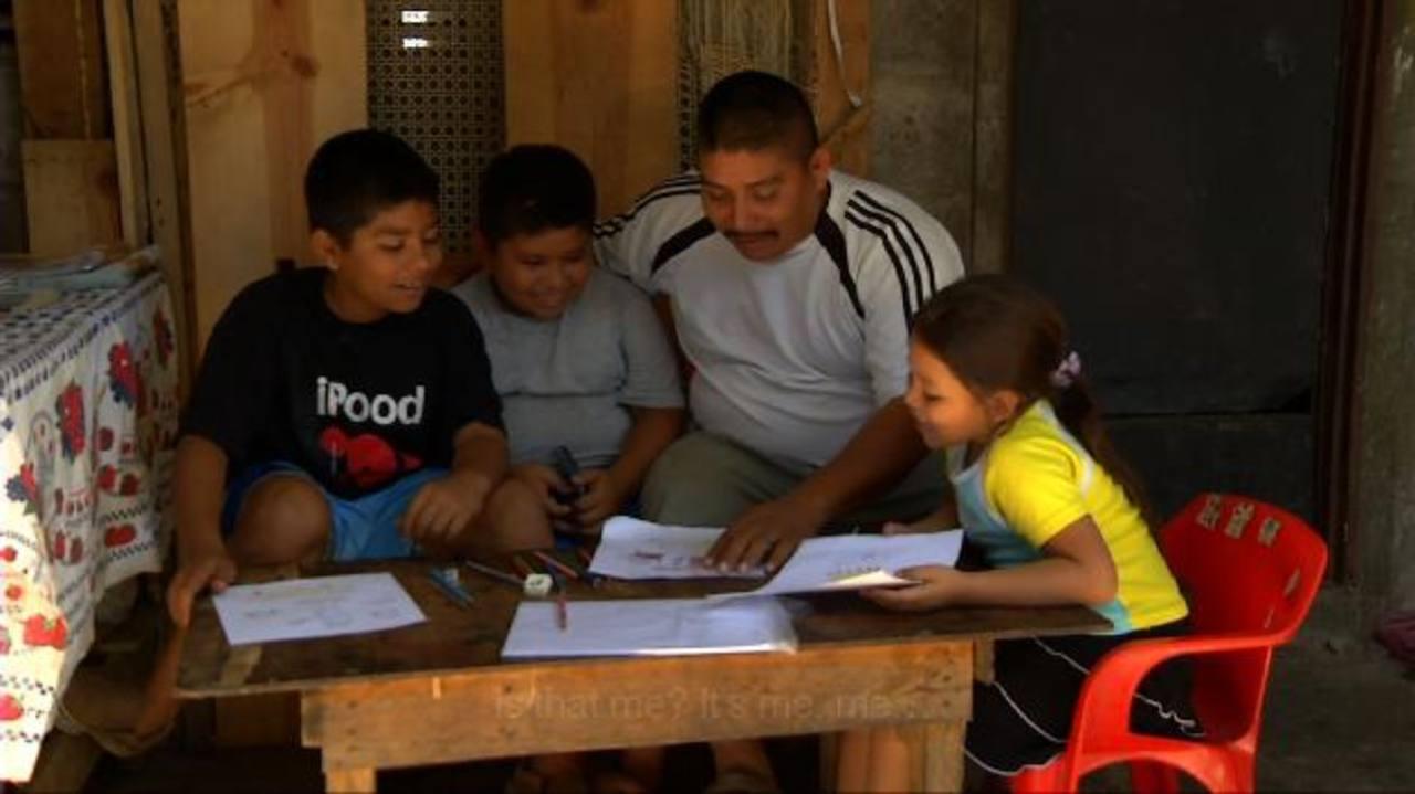 La película cuenta la historia de tres niños que quedaron huérfanos en el conflicto salvadoreño. FOTO EDH / Tomás Guevara