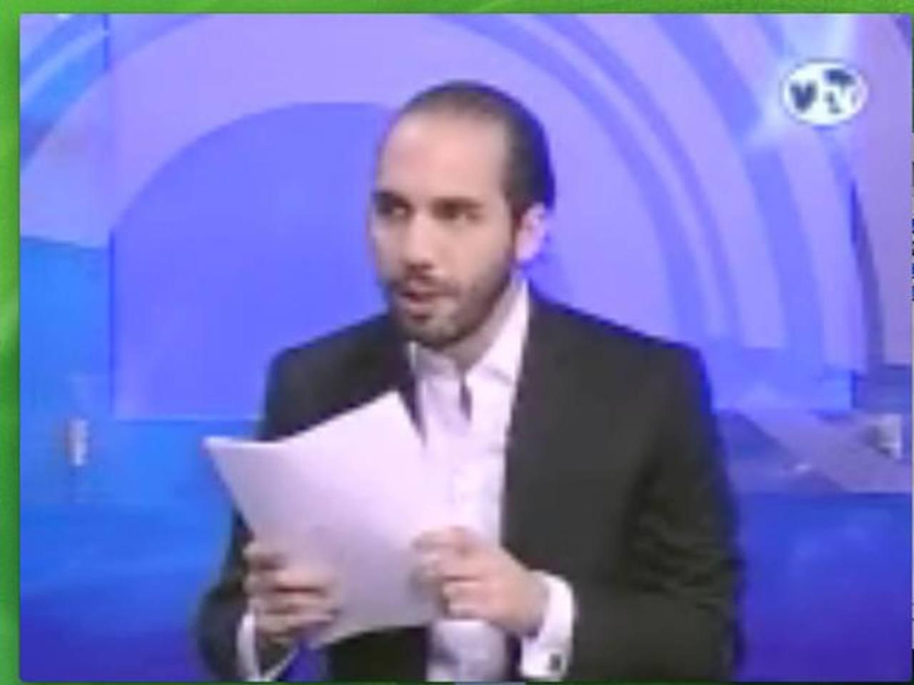 El edil acusó al presidente de la autónoma de malversar 200 mil dólares. Imagen tomada de entrevista de canal vtv