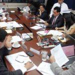 Los diputados de la comisión Seguridad se reunieron hoy para estudiar las reformas a Ley contra Lavado de Dinero. Foto/ Archivo