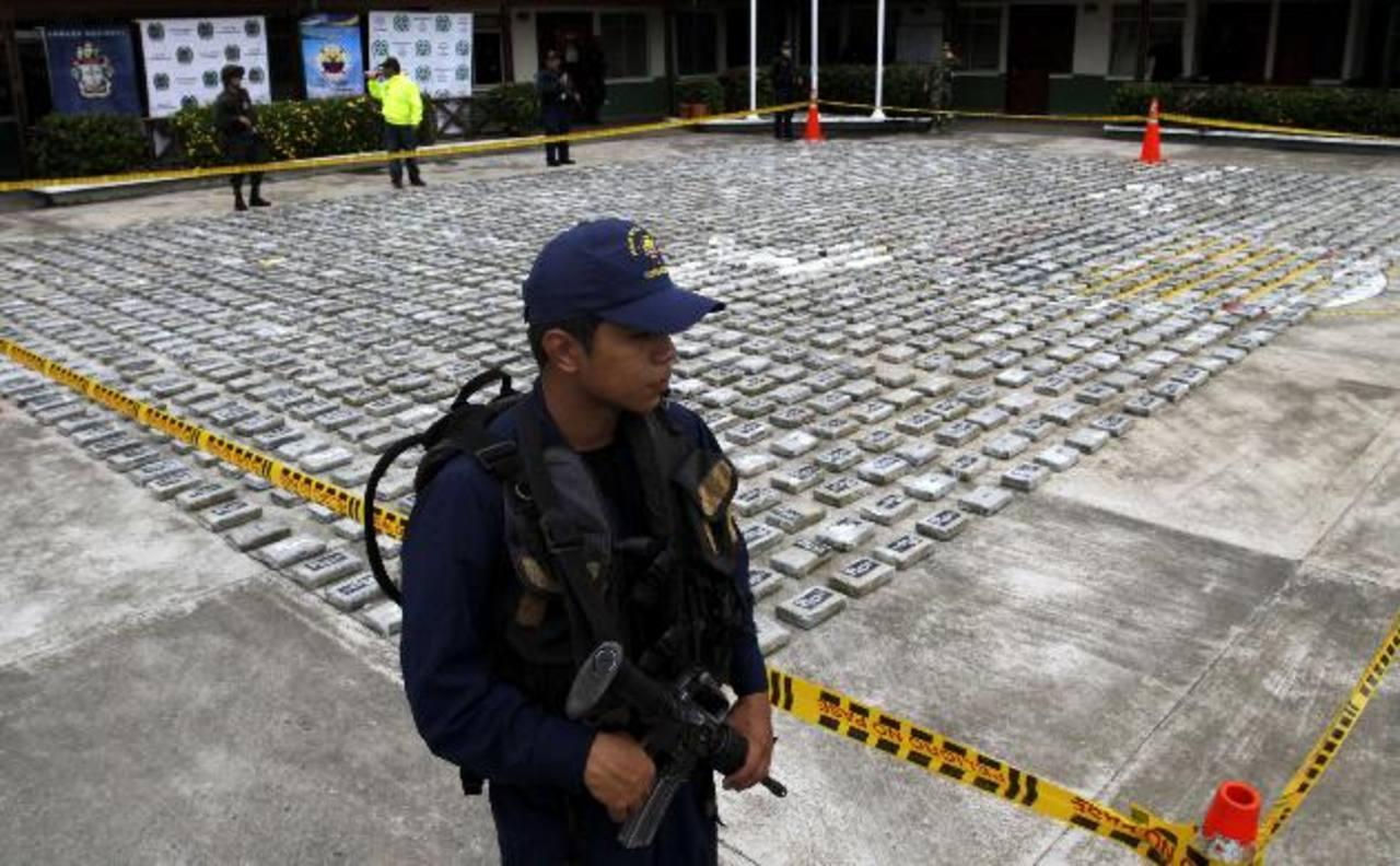 En las operaciones intervinieron autoridades de Colombia, Estados Unidos, Panamá y República Dominicana que se incautaron de un total de 2,490 kilos de cocaína. Foto EDH / REUTERS