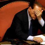 El ex primer ministro, ISilvio Berlusconi, fue inhabilitado para participar en la política de Italia por dos años. Su abogado dice que apelarán. FOTO AP