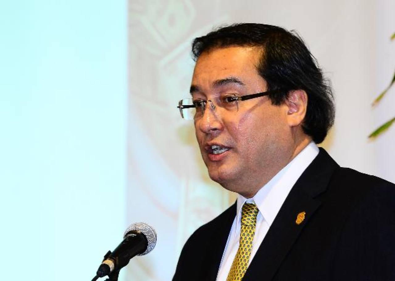 Fiscal General de la República, Luis Martínez. Foto EDH