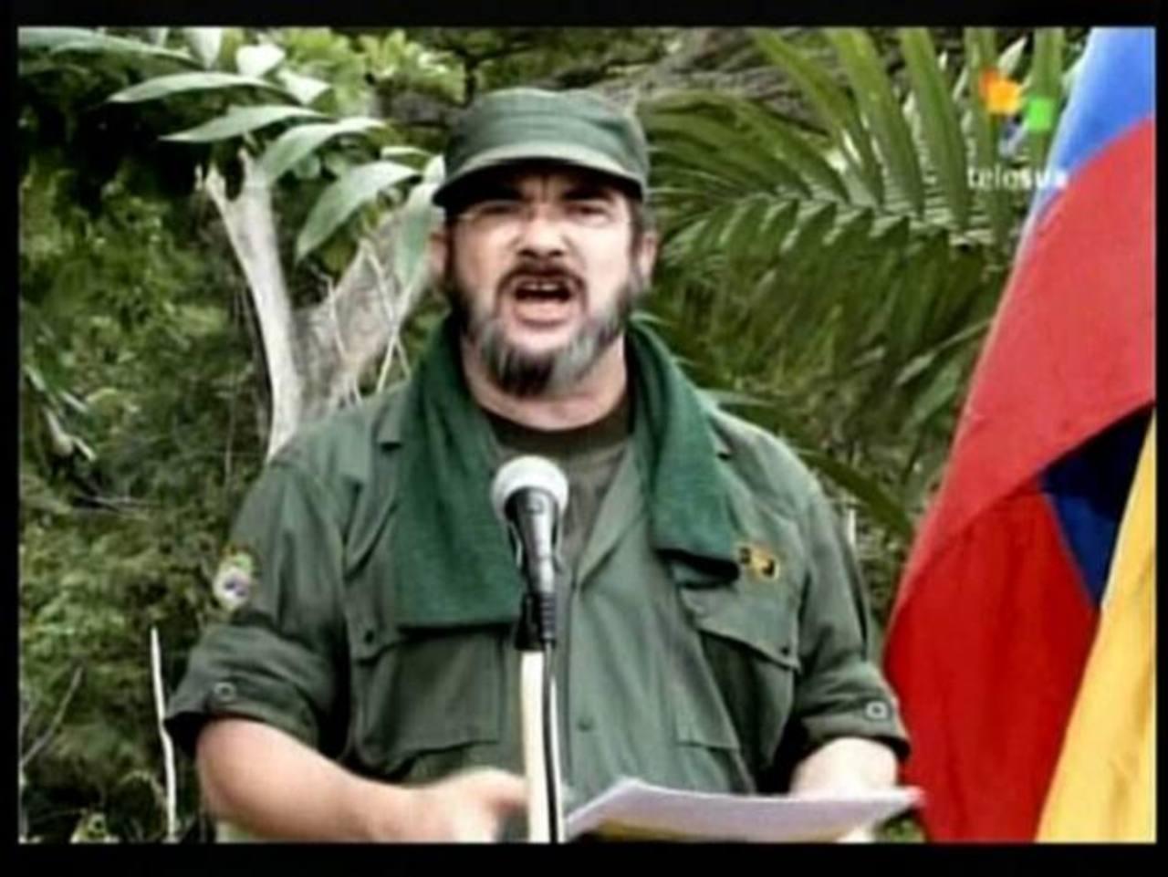 Timochenko, cabecilla de las FARC, es uno de los condenados. foto edh /archivo