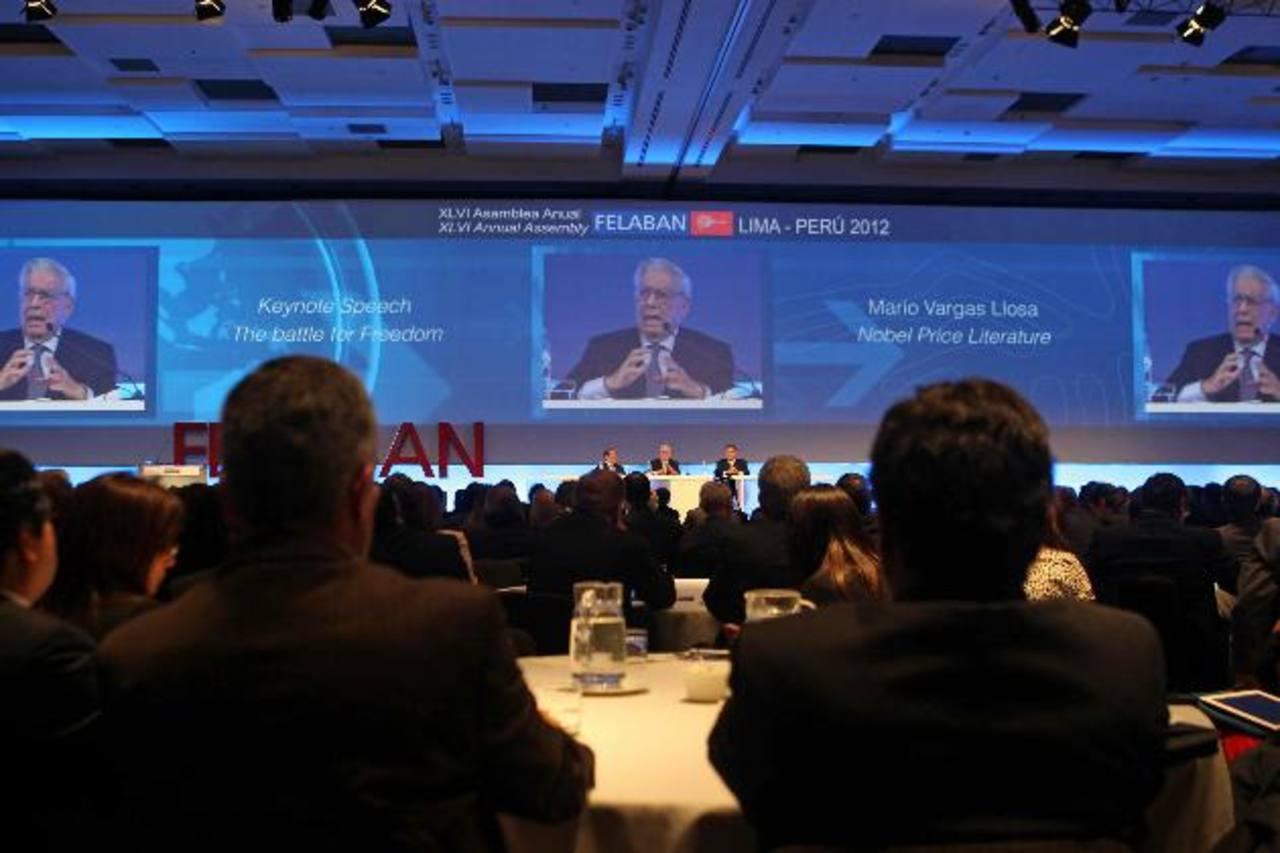 Alrededor de 1,800 banqueros de todo el mundo se reunirán en Felaban. Foto EDH / archivo