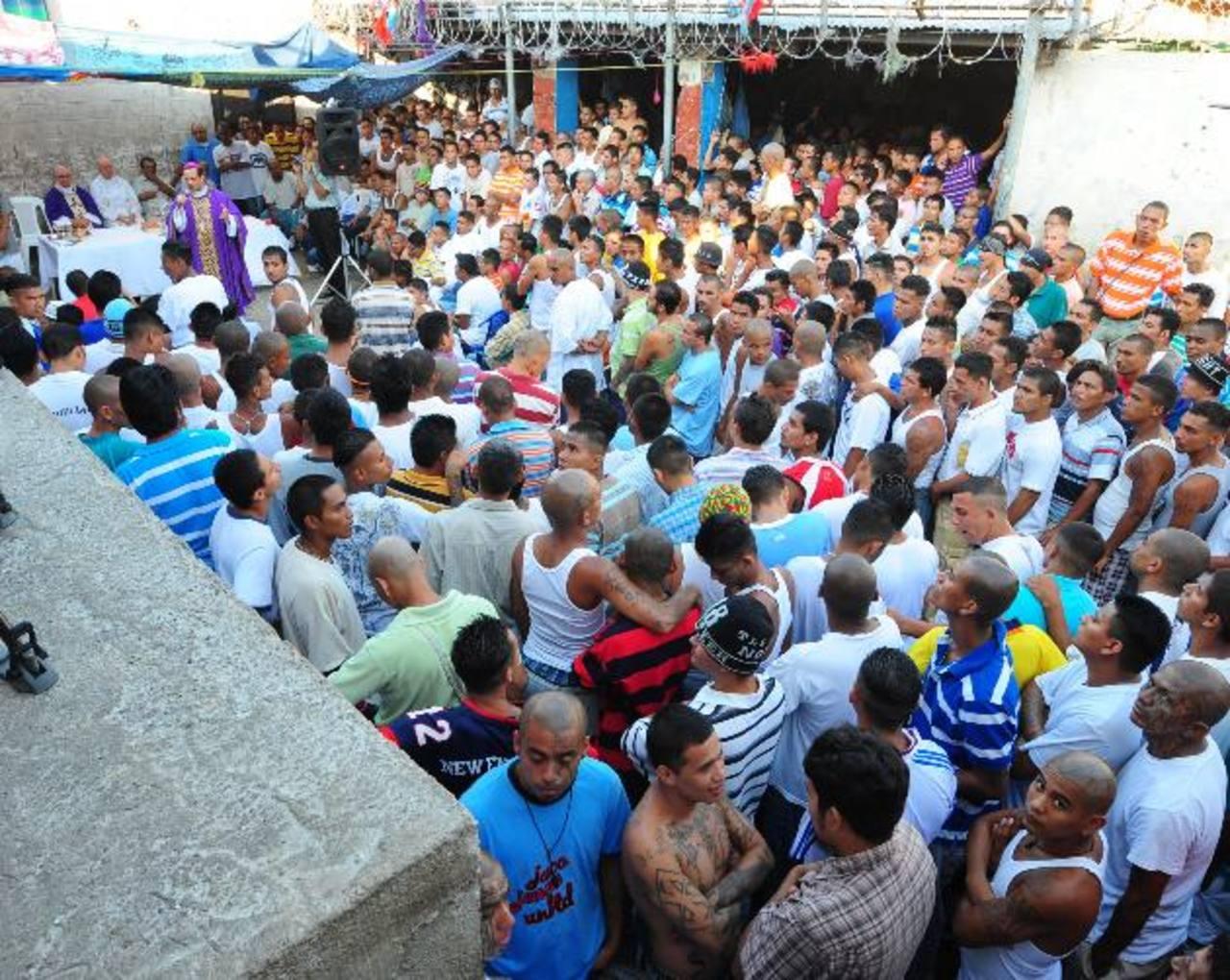 Las prebendas a las pandillas en las cárceles han sido parte de una negociación con las autoridades. Fotos EDH / Marvin Recinos