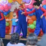 Este fin de semana, los payasos hicieron reír a grandes y chicos con sus ocurrencias.. fotos EDH /Mauricio Cáceres
