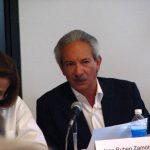 El periodista guatemalteco ve en alto riesgo la libertad de prensa en Guatemala, declaró al periódico español. foto edh /