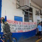 Los sindicalistas aseguran que si autoridades no llegan a un acuerdo, retomarán protestas. Foto EDH / Insy Mendoza