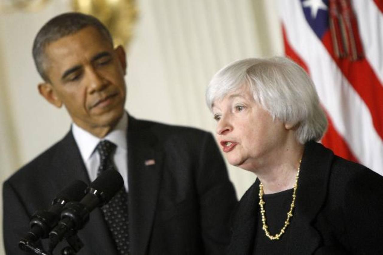 El presidente Barack Obama nombró a Janet Yellen como la nueva presidenta del Reserva Federal. foto edh / archivo