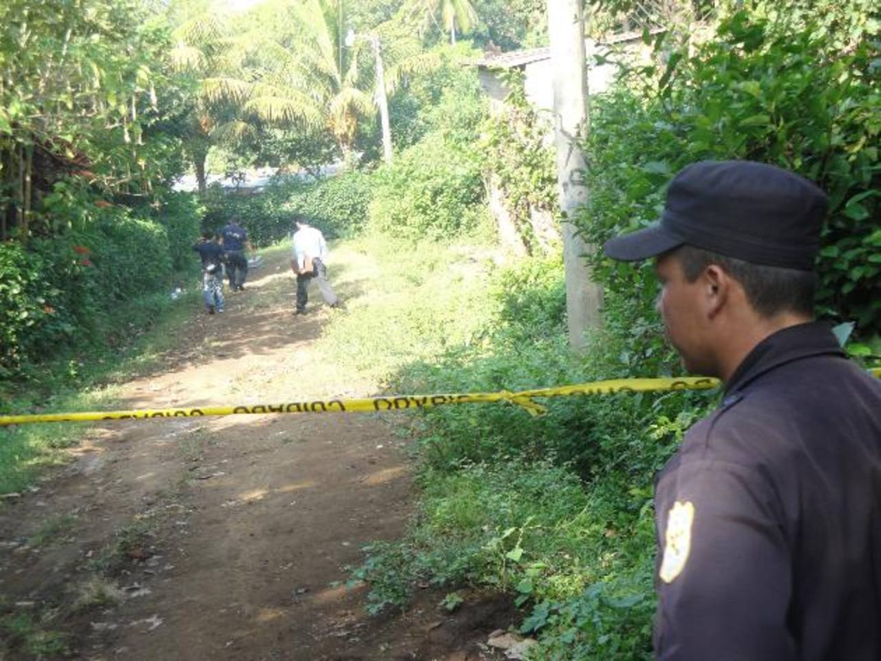 Las víctimas fueron atacadas con fusil M-16. FOTO EDH Archivo.