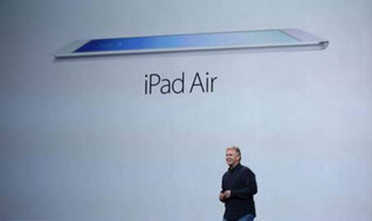 Apple presenta iPad Air, que sólo pesa 1 libra