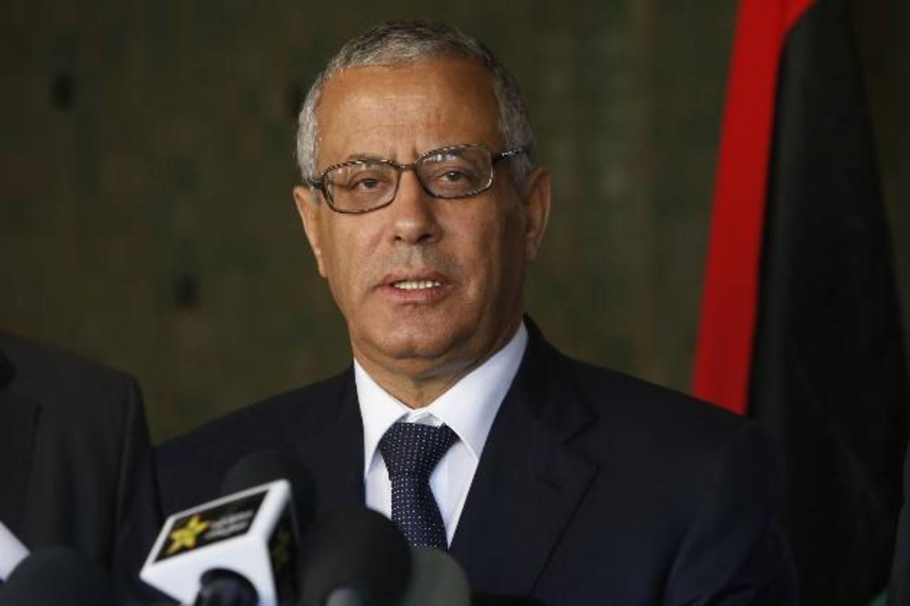 El primer ministro de Libia Ali Zidan. Foto/ AP